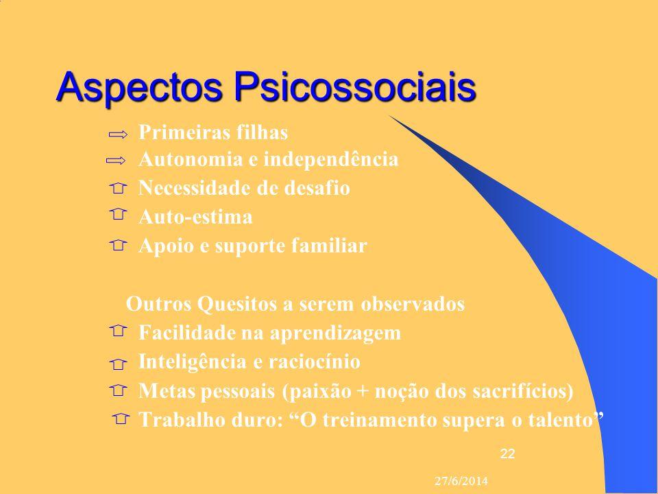 Aspectos Psicossociais