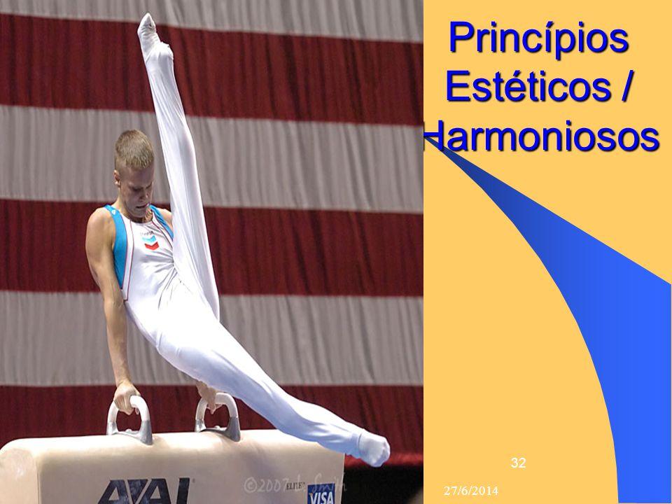 Princípios Estéticos / Harmoniosos