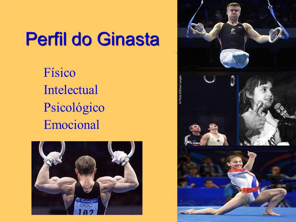 Perfil do Ginasta Físico Intelectual Psicológico Emocional 02/04/2017