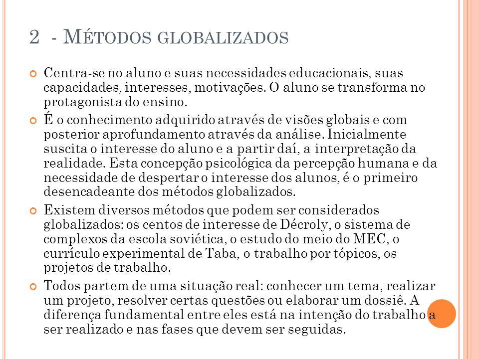 2 - Métodos globalizados