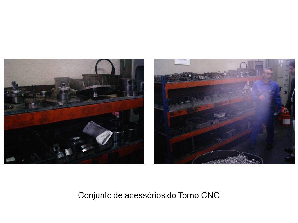 Conjunto de acessórios do Torno CNC