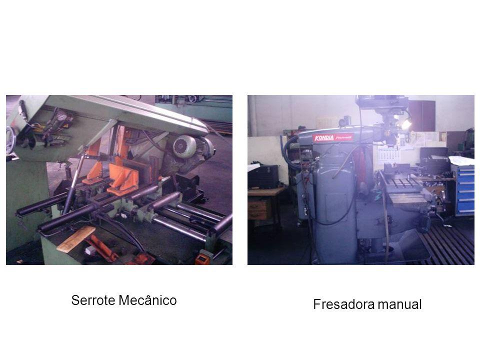 Serrote Mecânico Fresadora manual