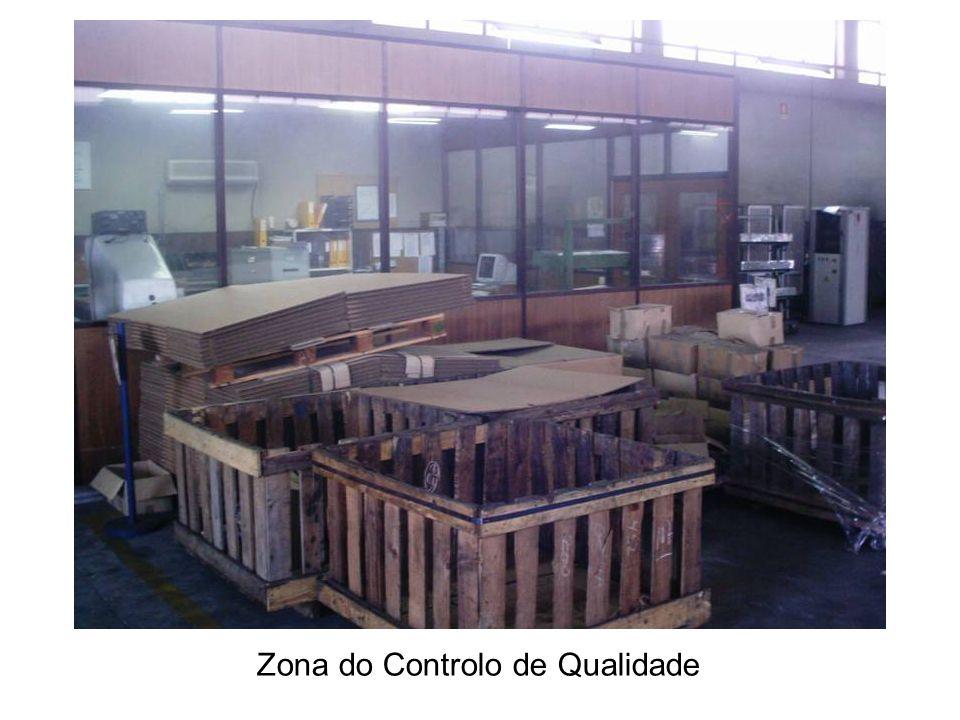 Zona do Controlo de Qualidade