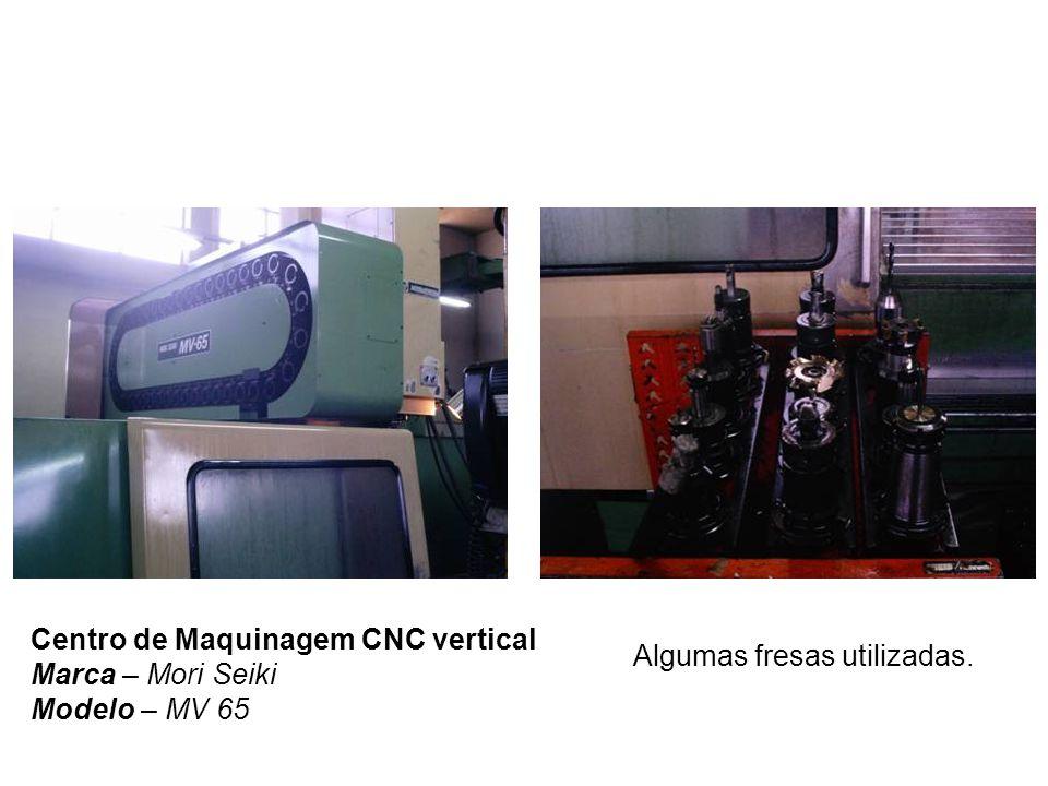 Centro de Maquinagem CNC vertical