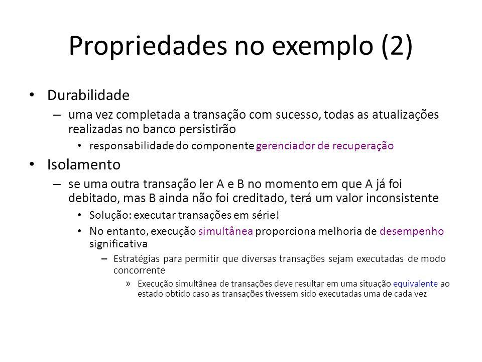 Propriedades no exemplo (2)