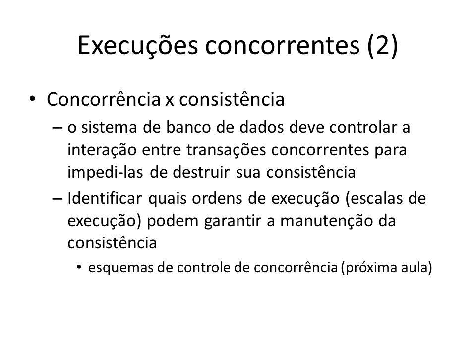 Execuções concorrentes (2)