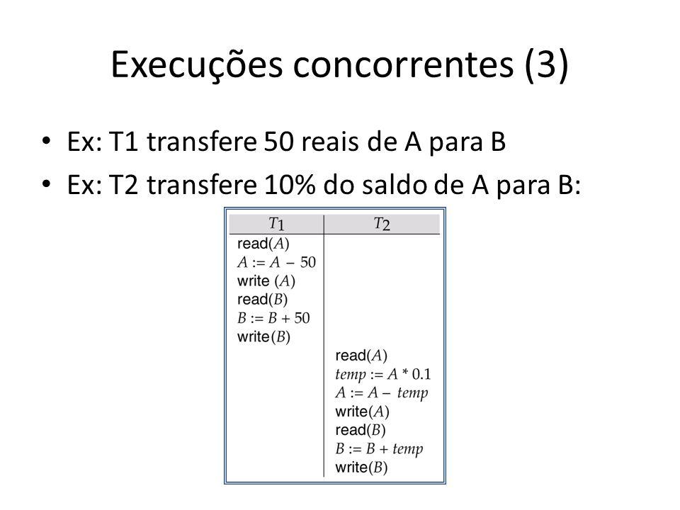 Execuções concorrentes (3)