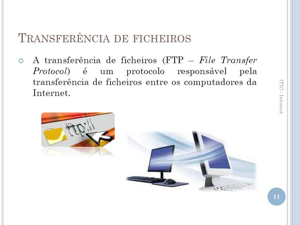 Transferência de ficheiros