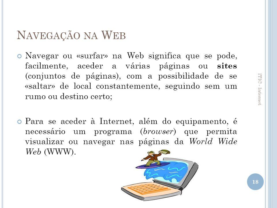 Navegação na Web