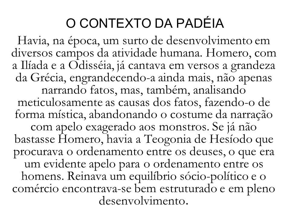 O CONTEXTO DA PADÉIA