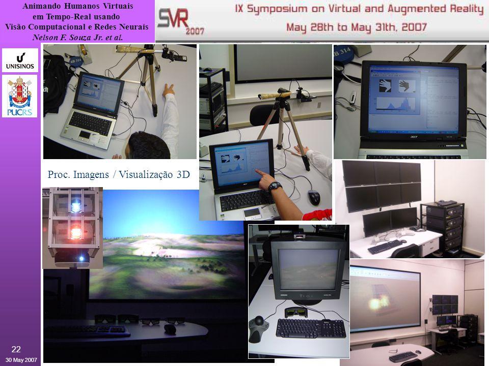 Proc. Imagens / Visualização 3D