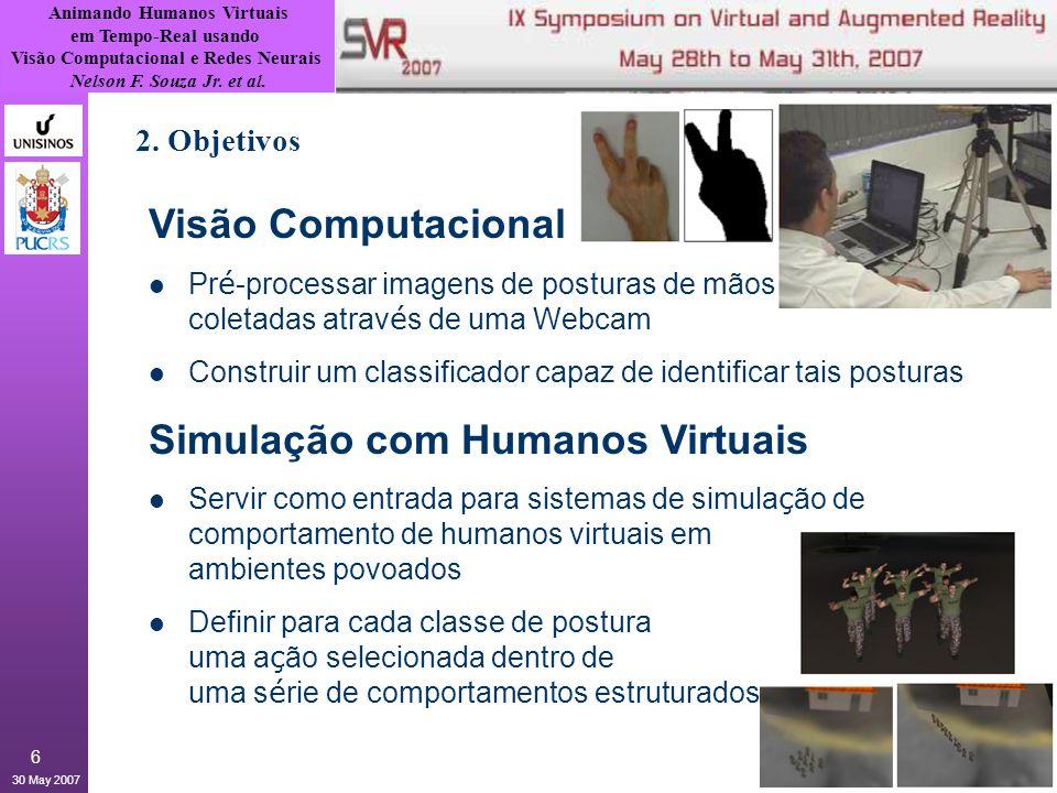 Simulação com Humanos Virtuais