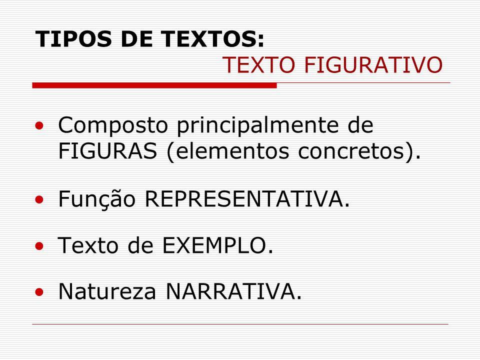 TIPOS DE TEXTOS: TEXTO FIGURATIVO