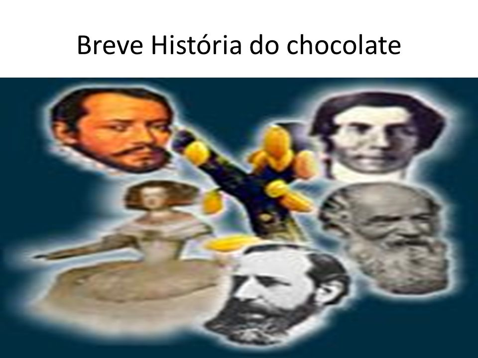Breve História do chocolate