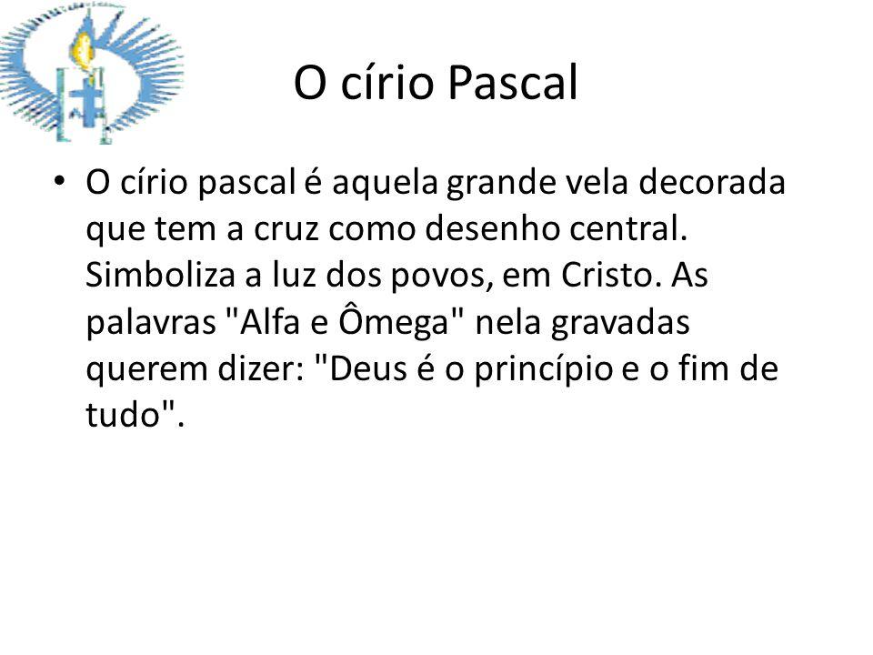 O círio Pascal