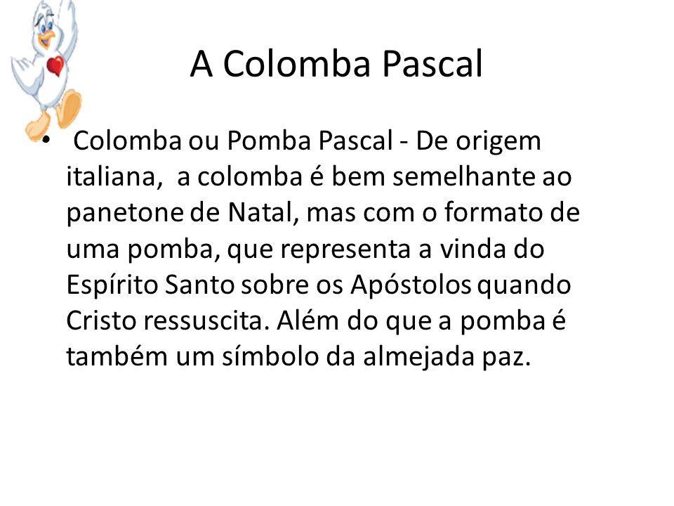 A Colomba Pascal