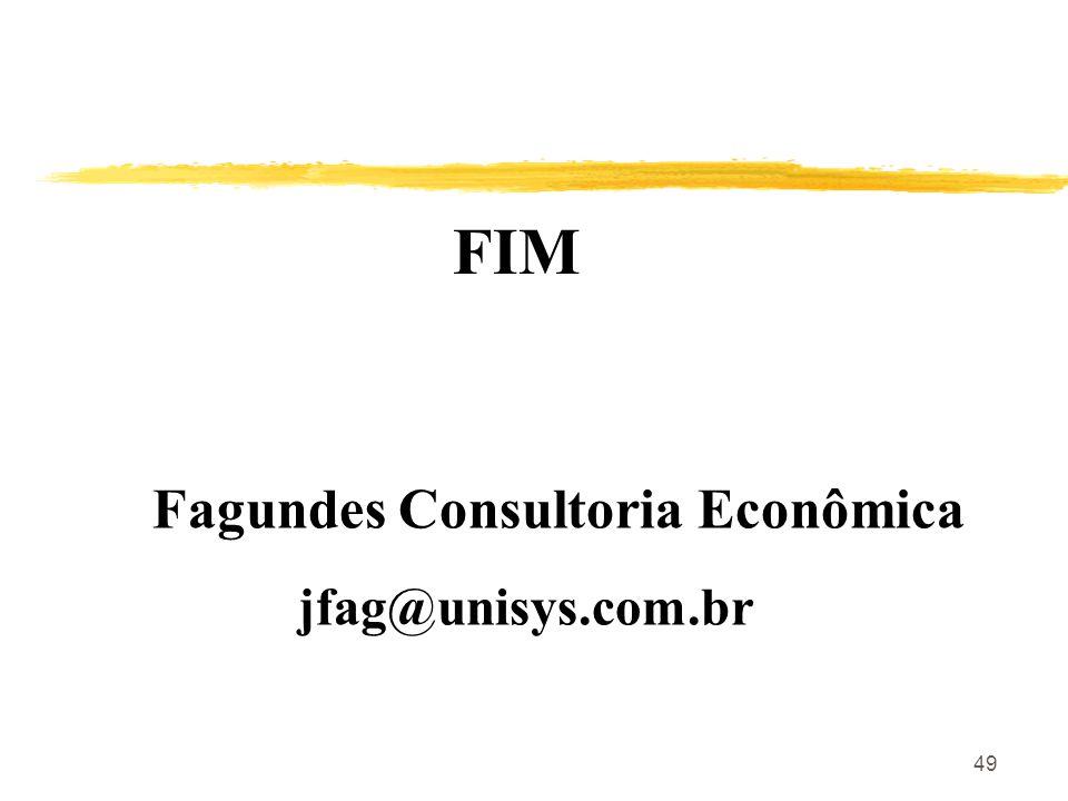 FIM Fagundes Consultoria Econômica jfag@unisys.com.br
