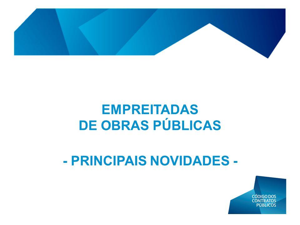 - PRINCIPAIS NOVIDADES -