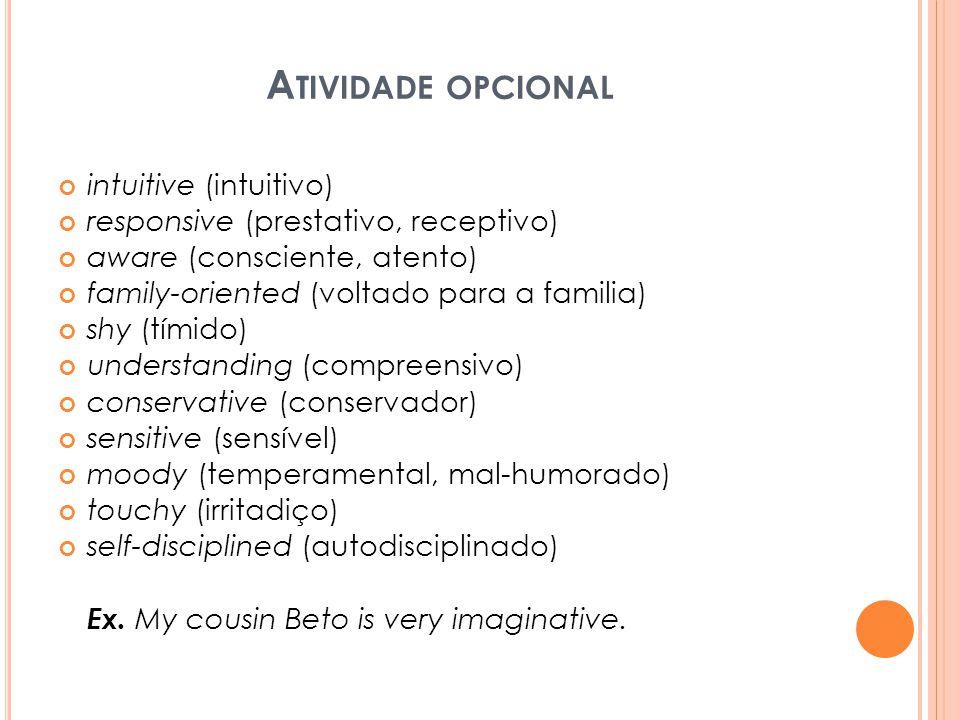 Atividade opcional intuitive (intuitivo)
