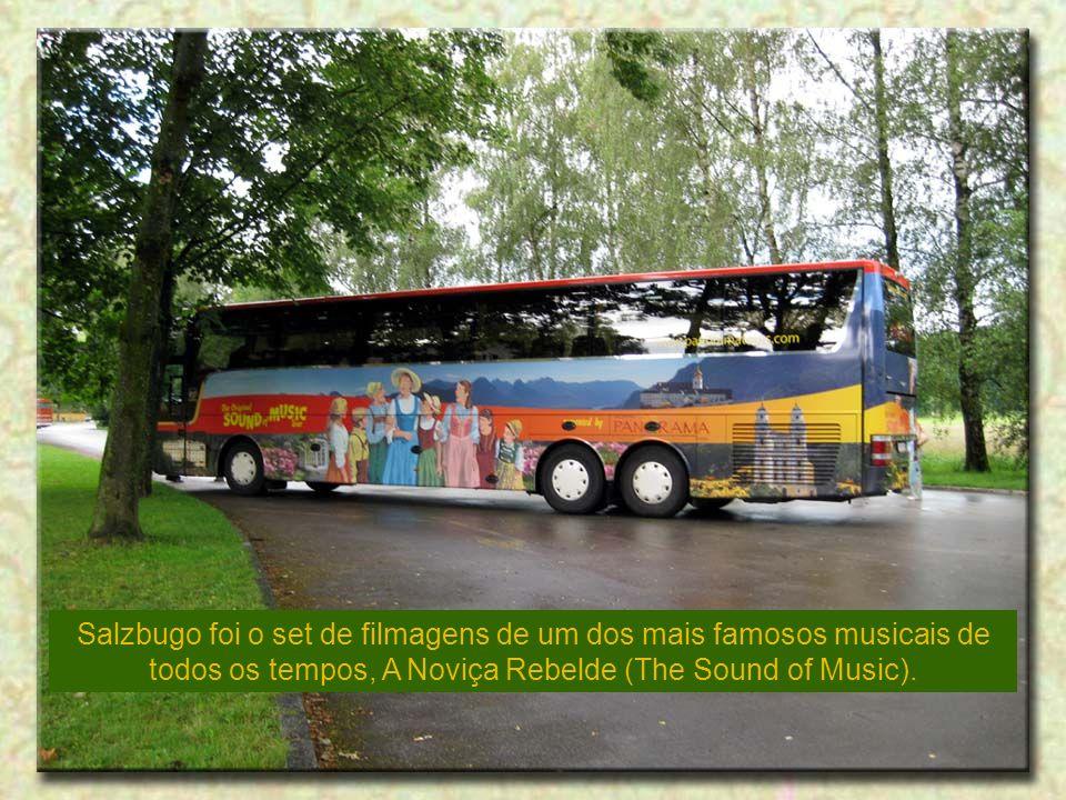 Salzbugo foi o set de filmagens de um dos mais famosos musicais de todos os tempos, A Noviça Rebelde (The Sound of Music).