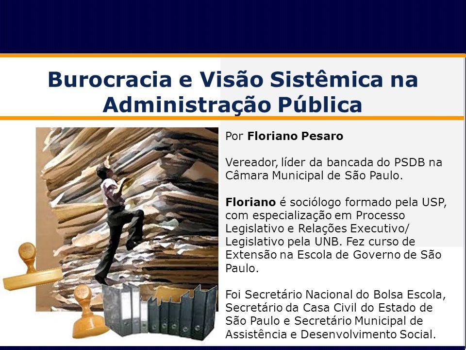 Burocracia e Visão Sistêmica na Administração Pública