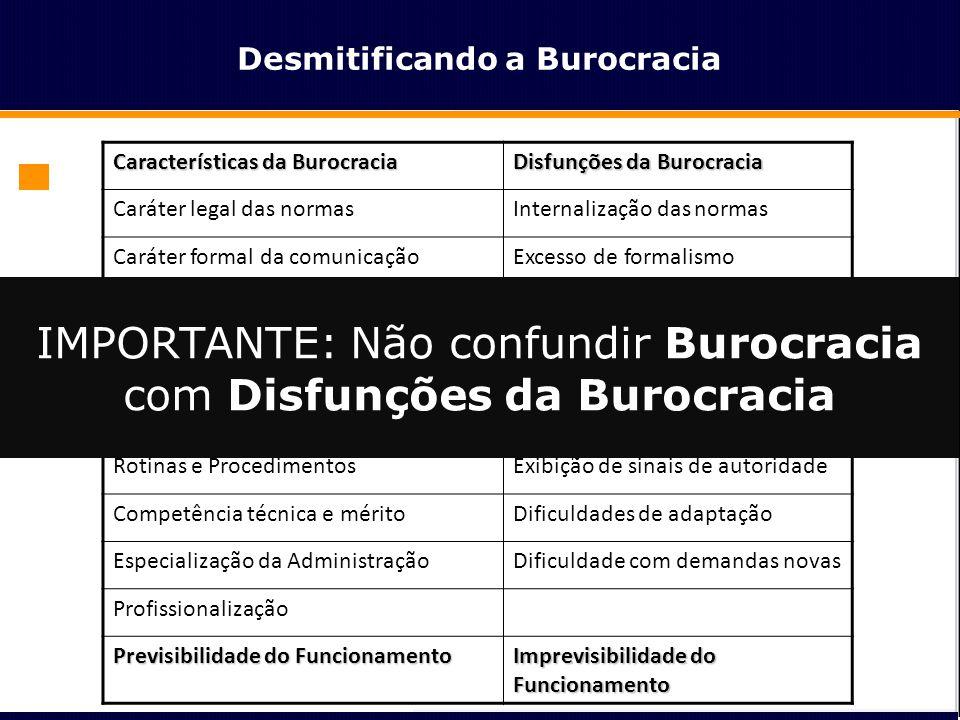 Desmitificando a Burocracia