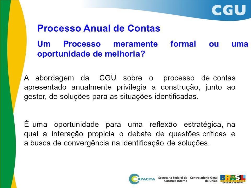 Processo Anual de Contas