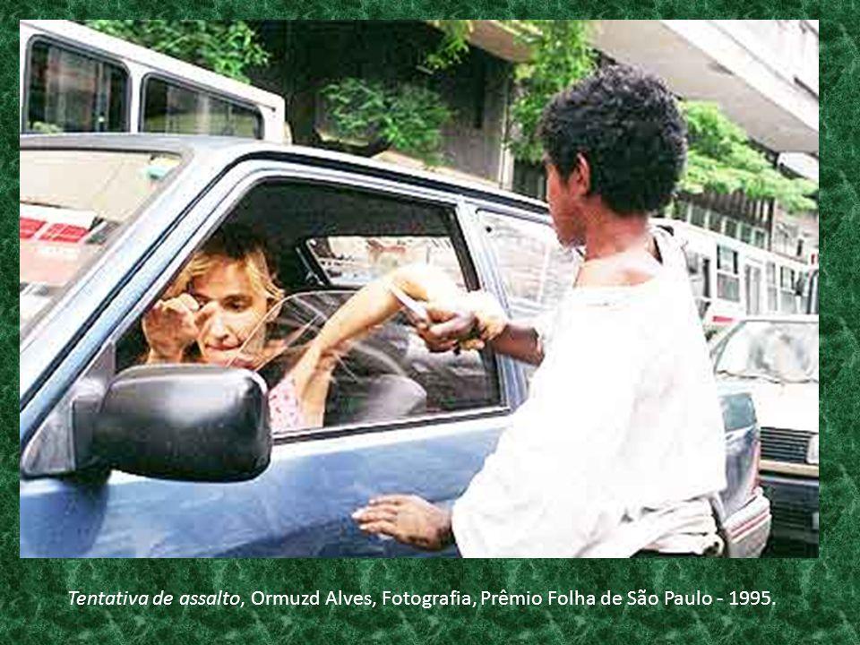 Tentativa de assalto, Ormuzd Alves, Fotografia, Prêmio Folha de São Paulo - 1995.