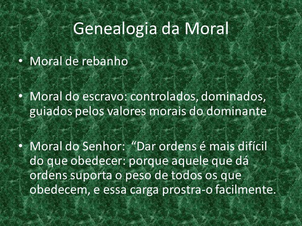 Genealogia da Moral Moral de rebanho
