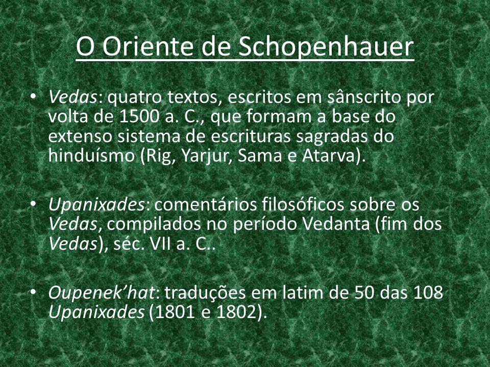 O Oriente de Schopenhauer
