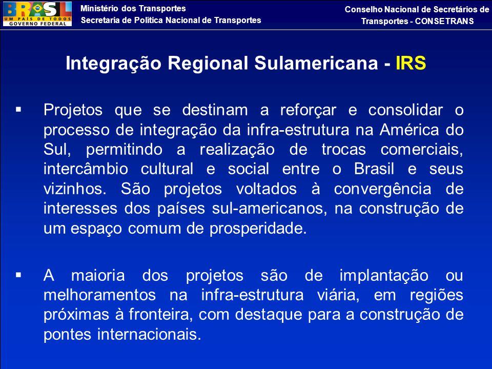 Integração Regional Sulamericana - IRS