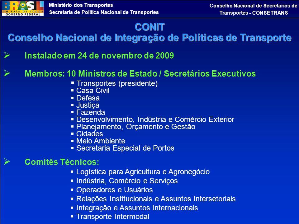 Conselho Nacional de Integração de Políticas de Transporte