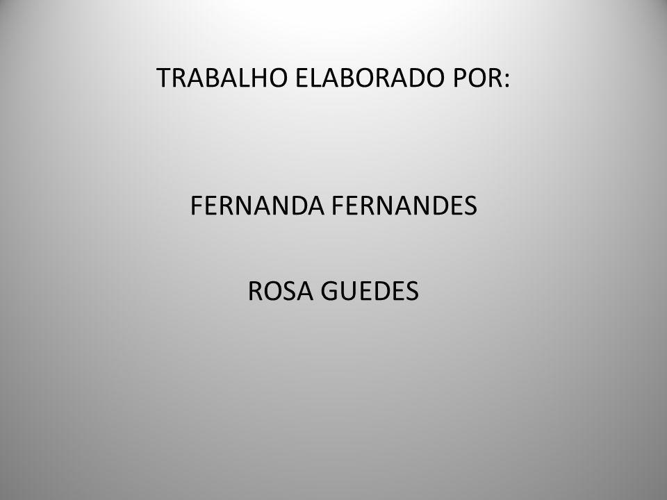 TRABALHO ELABORADO POR: