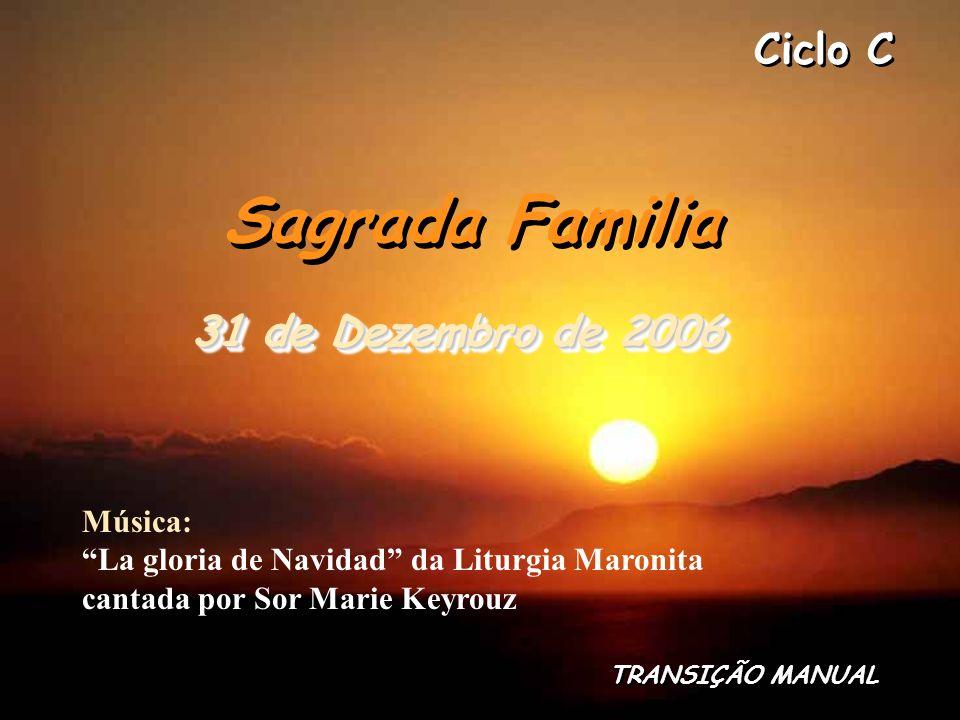Sagrada Familia 31 de Dezembro de 2006
