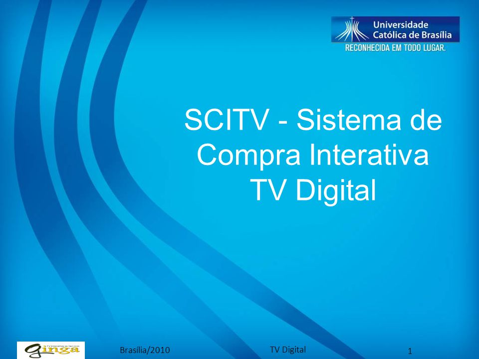 SCITV - Sistema de Compra Interativa TV Digital