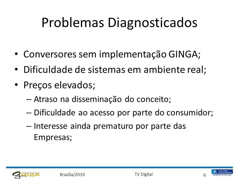 Problemas Diagnosticados