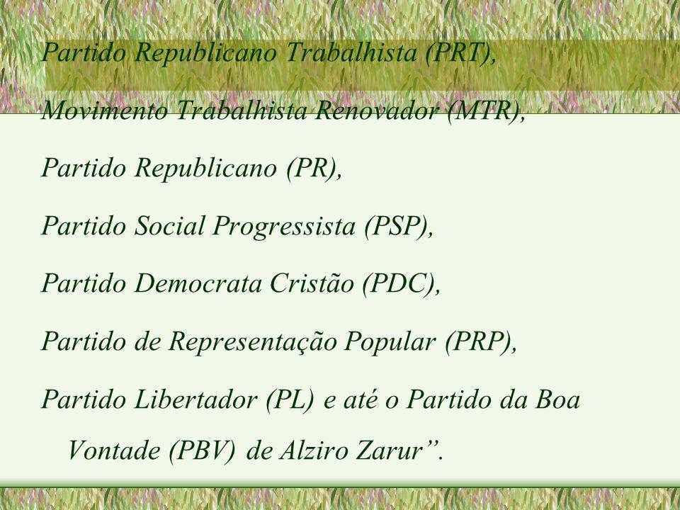 Partido Republicano Trabalhista (PRT),