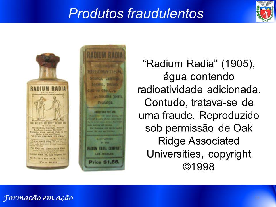 Produtos fraudulentos