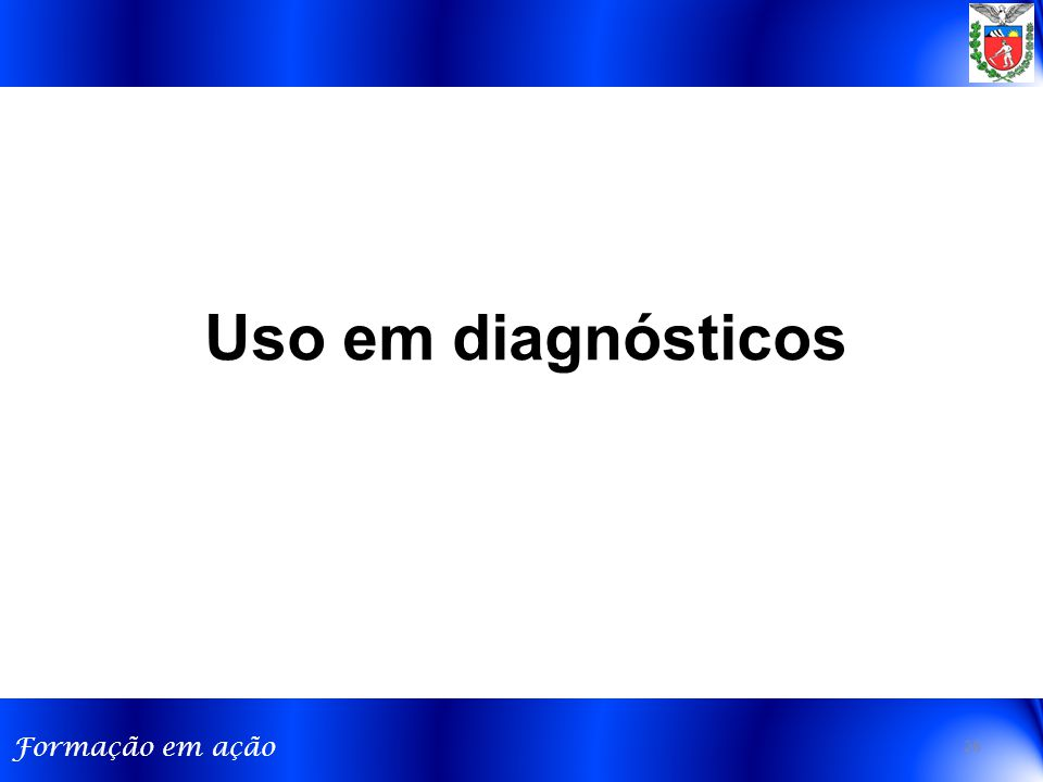 Uso em diagnósticos