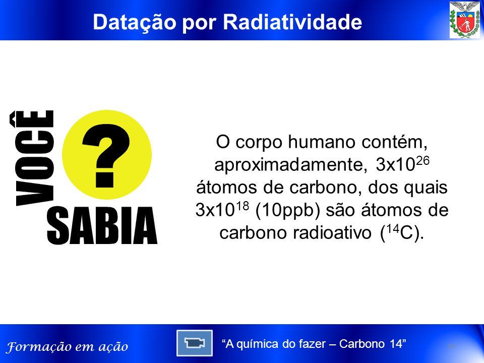 Datação por Radiatividade