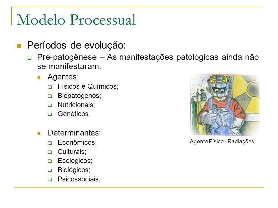 Modelo Processual Períodos de evolução: