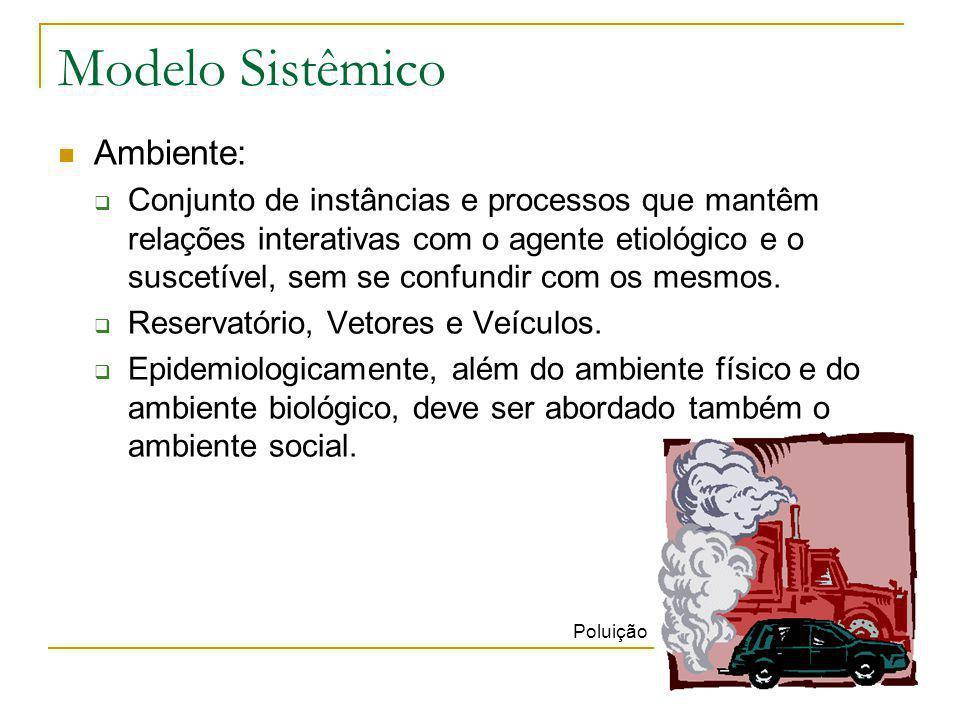 Modelo Sistêmico Ambiente: