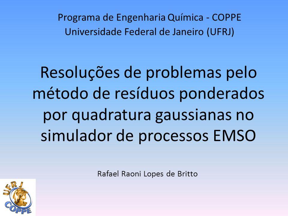 Programa de Engenharia Química - COPPE