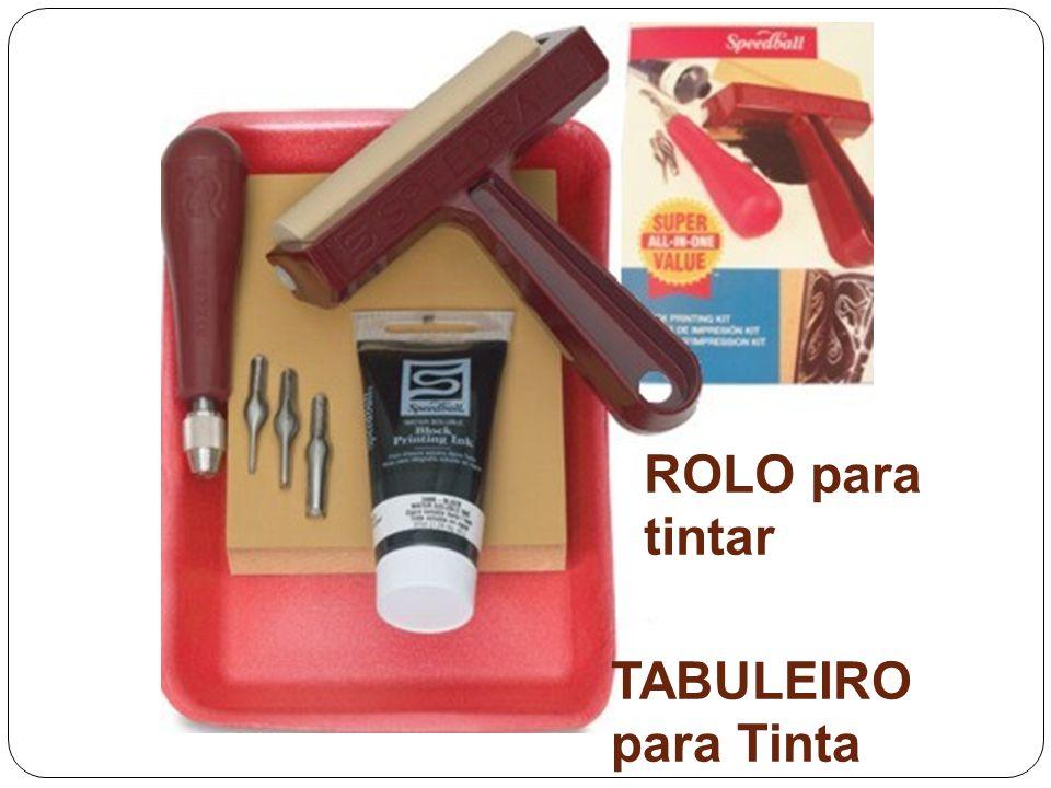 ROLO para tintar TABULEIRO para Tinta