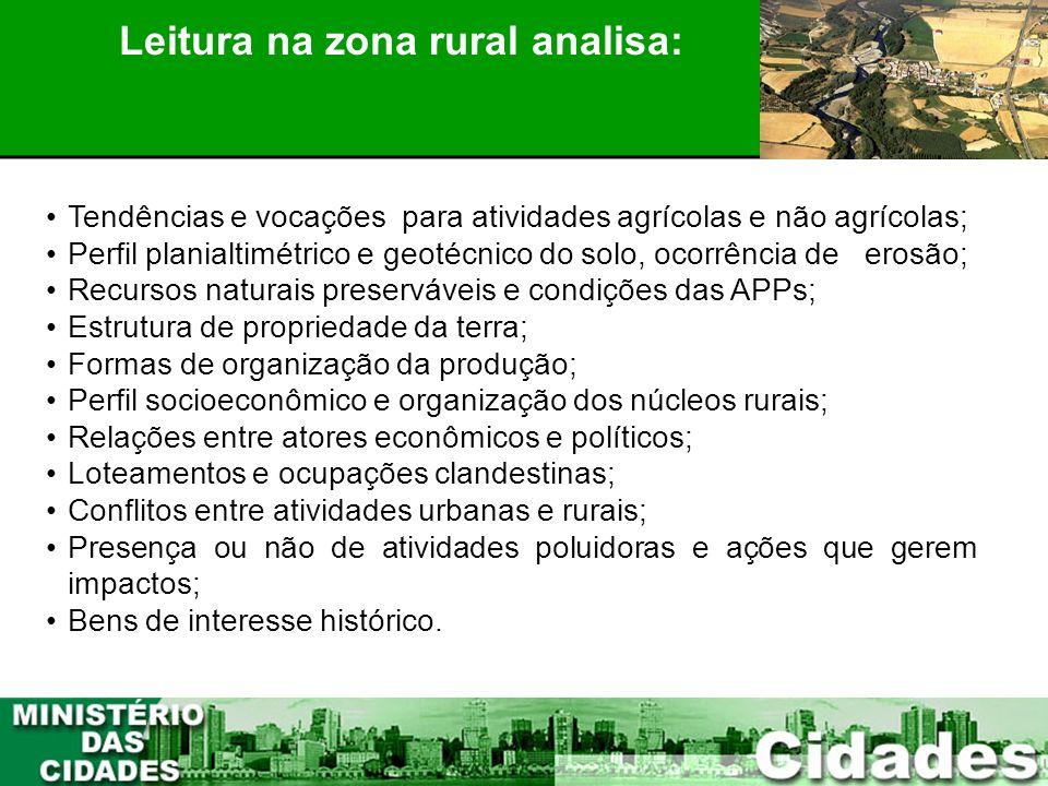 Leitura na zona rural analisa: PLANEJAMENTO PARTICIPATIVO