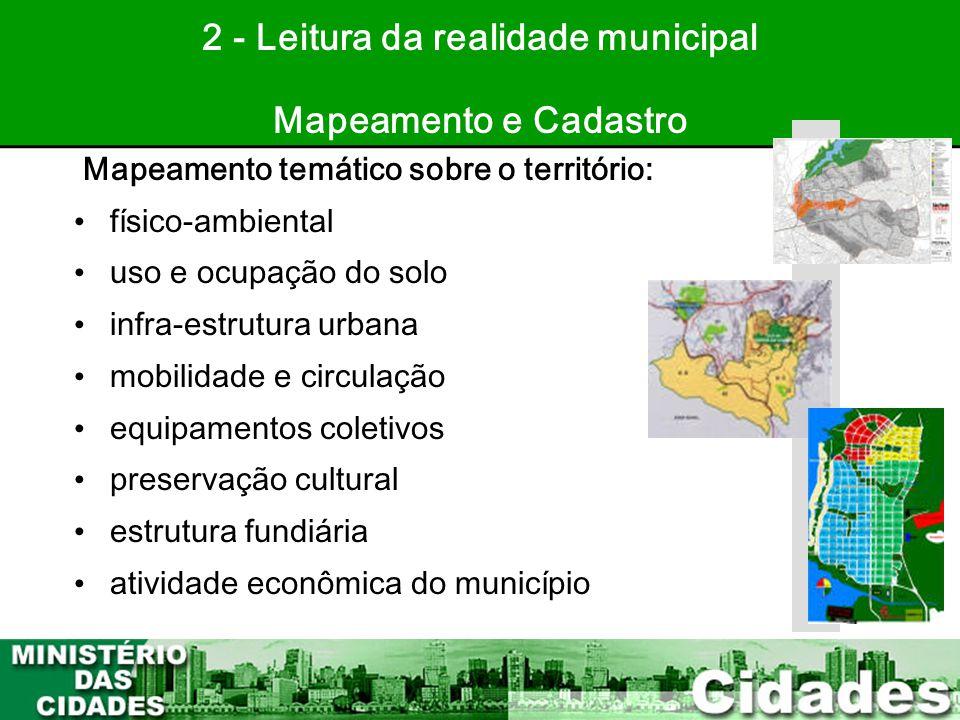 2 - Leitura da realidade municipal