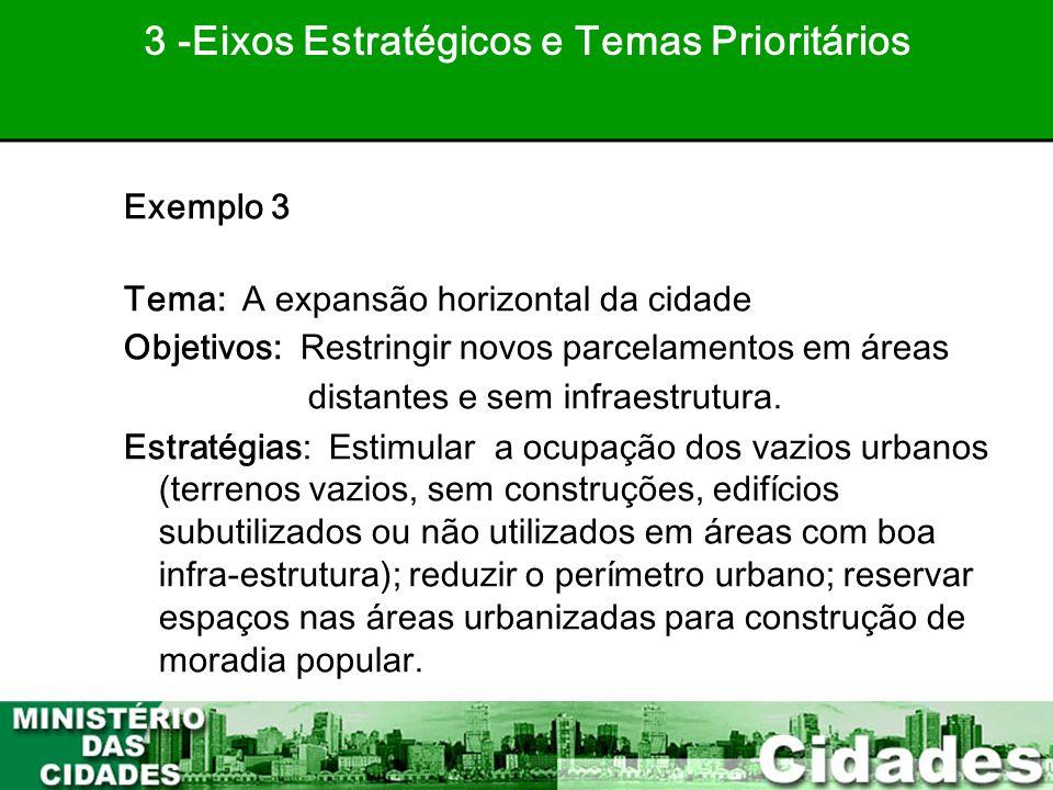 3 -Eixos Estratégicos e Temas Prioritários