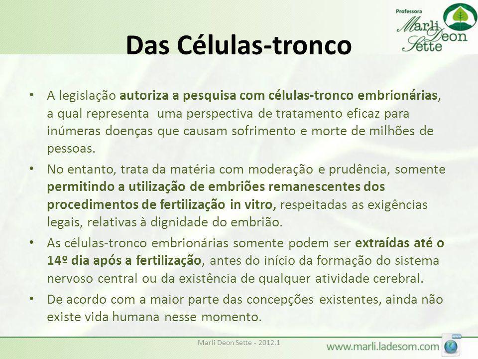 Das Células-tronco