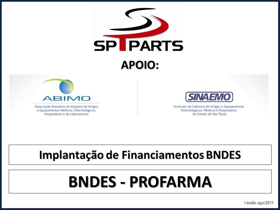 Implantação de Financiamentos BNDES