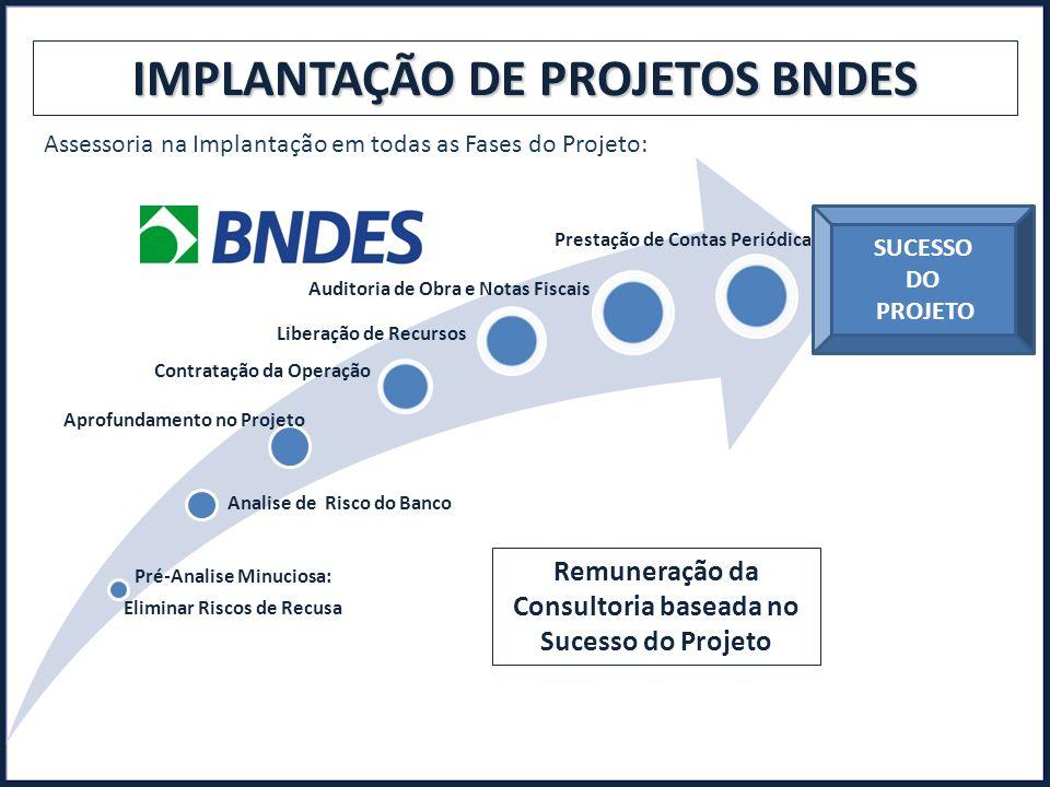 IMPLANTAÇÃO DE PROJETOS BNDES